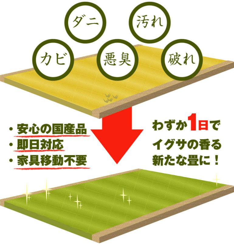 神奈川県海老名市木島畳店トップ